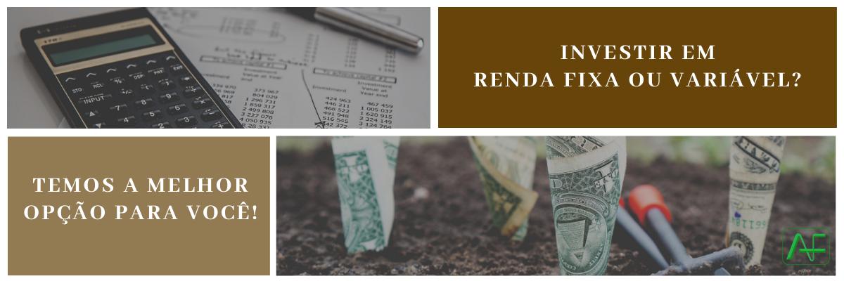Investir em Renda Fixa ou Variável